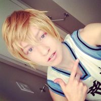 Kise Ryota Wig Test by twinfools