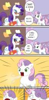MLP FiM ::Sweetie wants a cookie:: by Thildou-chan