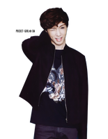 EXO-M Lay (Yixing) Ceci February 2012 Issue Render by pocket-girl
