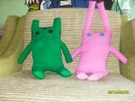 tiger and bunny plushie by yuky16