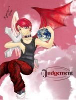 ++ Collab - Judgement ++ by lunescence