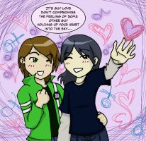Ben 10 - ..+Guy Love+.. by the-school-girl