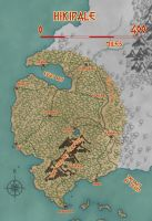 Aina - North Hikipale Map by KungFuAmadeus