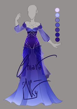 :: Adoptable Bluebell Outfit: AUCTION CLOSED :: by VioletKy