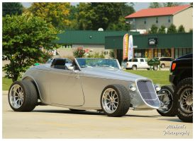 A Cool Silver Roadster by TheMan268