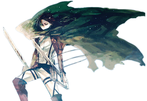 Levi Attack On Titan With Stars HD Background by MP-Celestial