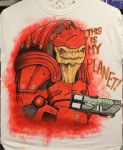 I am Urdnot Wrex and by artildawn