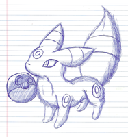Lil Umby and a Pokeball by BrianH-1995