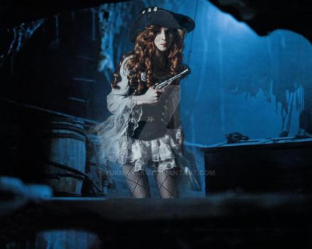 Anne Bonny - You can't see me, or am I wrong? by YukiSayaku