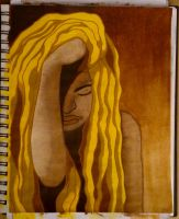 Golden dreadlocks by MaLiBuDreaD