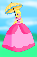 Super Princess Peach (Winx Style) by RavenVillanuevaT2P