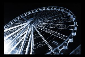 Wheel of Manchester by klaudelu