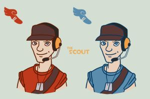 TF2 - Scout by MissTooni