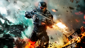 Crysis 2 wallpaper HD 1080p by legendasfp