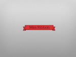 Mini Ribbon by Ikue