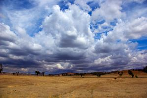 Hume Highway - Rain Clouds by addr010