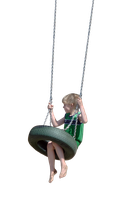 Swinging Boy by Eirian-stock