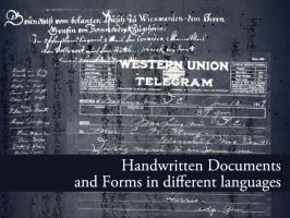Handwritten Documents by remittancegirl