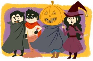 A Korra Halloween by cookiekhaleesi