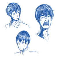 more brush testing ft. kags by Honnojis