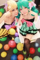 Colorful x Melody: the colorful girls's melody by ikabii