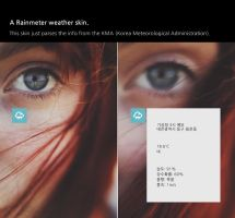 KMA Weather for Rainmeter by guerrilive