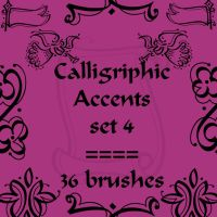 Calligriphic Accents 4 by rL-Brushes