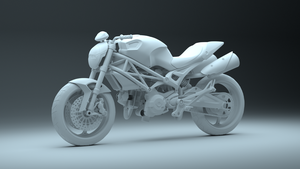 Ducati Monster 696 WIP 2 by pierre-allard