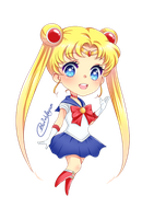 Sailor Moon by bu2xblegum