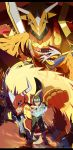 digimon frontiers fire by DrawingLee
