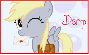 Filly Derpy hooves by AliceHumanSacrifice0
