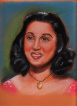 Layla Mourad Portrait by MagicalHany