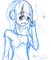 Music is Life (WIP) by Missxalone