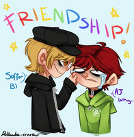 FRIENDSHIP or something by Polkadot-Creeper