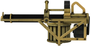 Gatling Gun by TRDaz