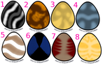 Cat Egg Adopts Round 1 -Open- by Ferry-chan