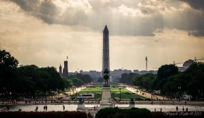 Washington Monument by Maxikq