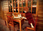 Kitty Cafe by ROSEL-D