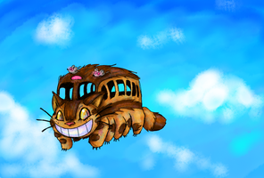 Catbus by Manic-Flyer