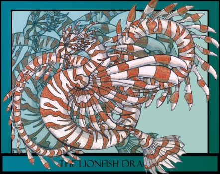 The Lion Fish Dragon by chostopher