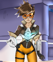 Overwatch - Tracer by DoomXWolf