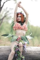 Spring Poison Ivy Cosplay by hjsteele