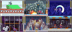 test of the megamen by omegazeke08013