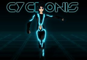 Cyclonis... on the GRID by X4vrztesp