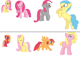 Fluttershy Shipping Adopts by Applejaz