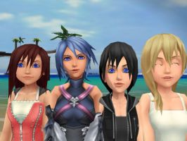 together we are kh girls :D by XxRhian-MidnightxX