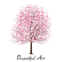 Beautiful Art Cherry Tree by bast4cats
