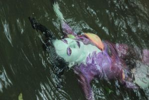 Body Paint Maleficent by MinaScarlett