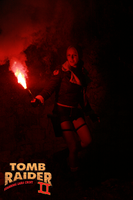 Cosplay Lara Croft - Tomb Raider II - Tibet by MissCroftCosplay