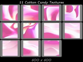 11 Cotton Candy Textures by ambersstock